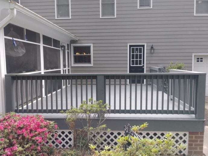 New Deck Builder in Midlothian