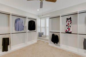 Master walk in closet remodeling Henrico Richmond VA