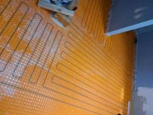 Radiant heat flooring Richmond