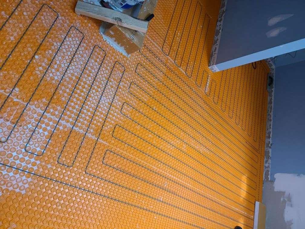 Radiant heat flooring Richmond